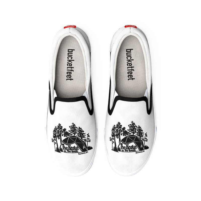 Hostel In The Forest Dome Logo, on a clear background Men's Shoes by Hostel in the Forest