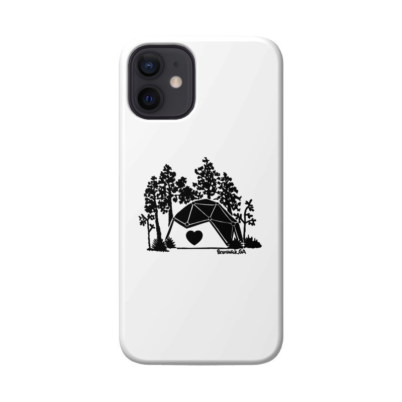 Hostel in the Forest Dome Heart white background Accessories Phone Case by Hostel in the Forest