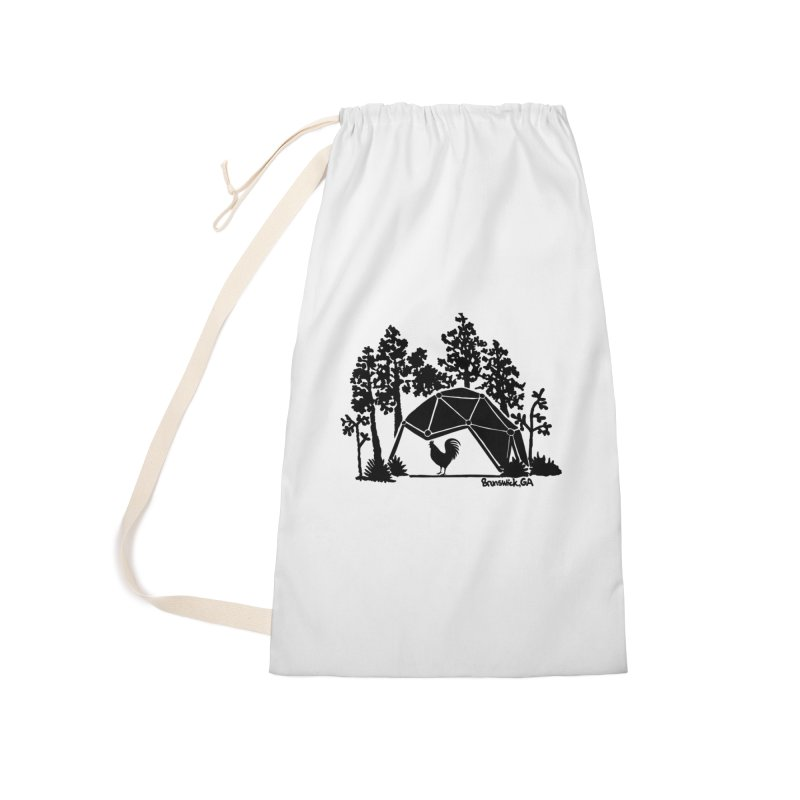 Hostel in the Forest Dome Rooster white background Accessories Bag by Hostel in the Forest