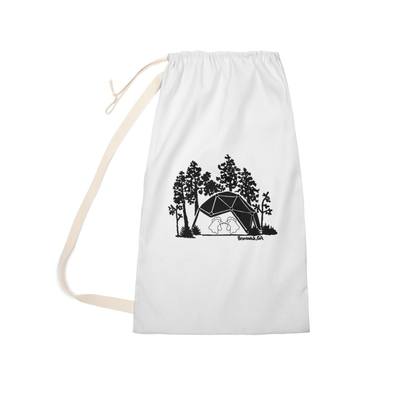 Hostel in the Forest Dome Chickens white background Accessories Bag by Hostel in the Forest