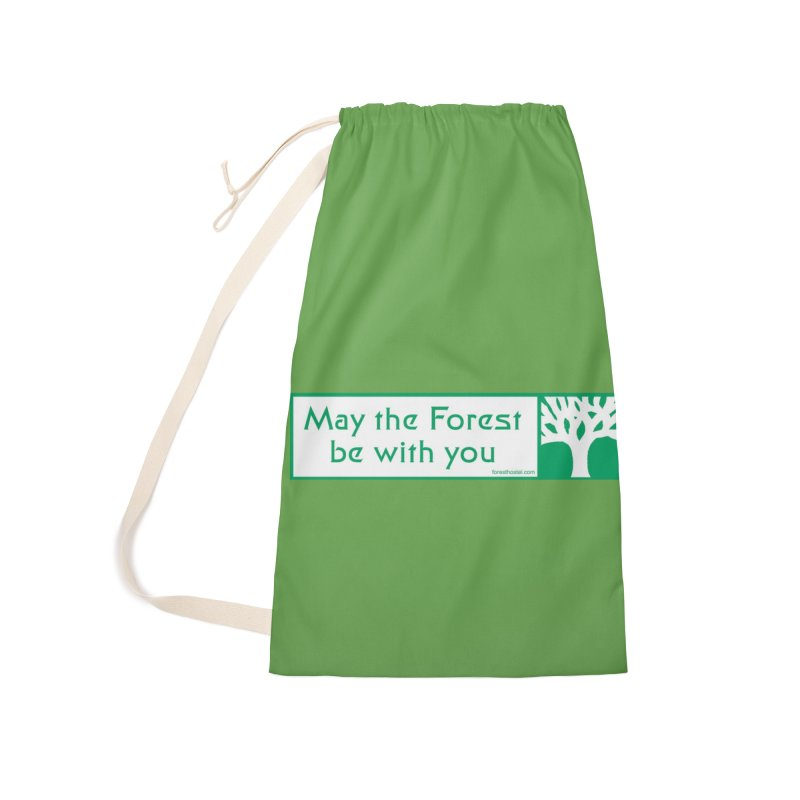 Hostel Bumper Sticker 2.0 Accessories Bag by Hostel in the Forest