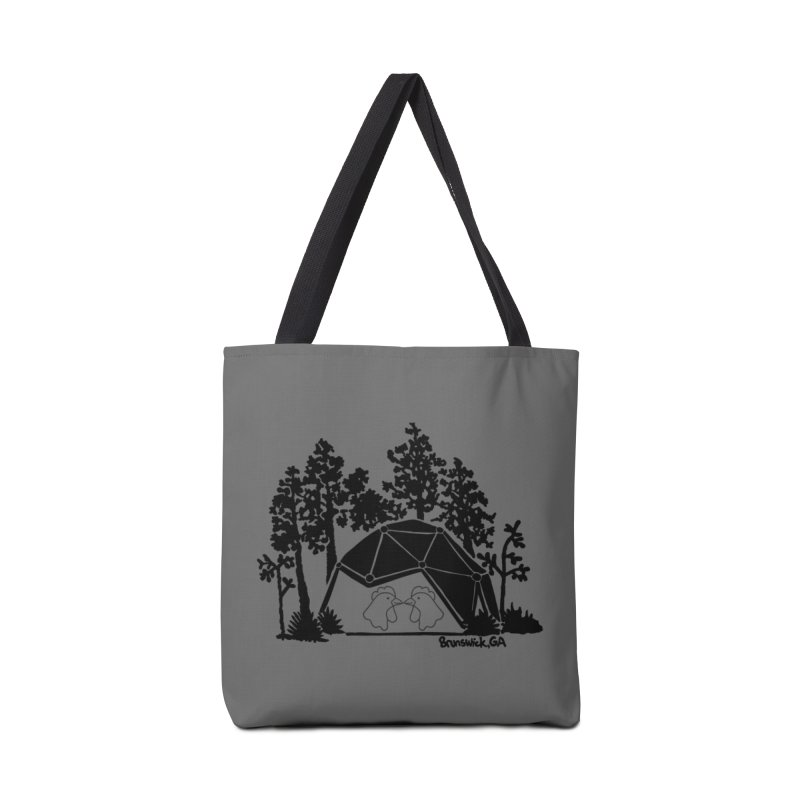 Hostel in the Forest Dome Chickens, on a grey background Accessories Bag by Hostel in the Forest