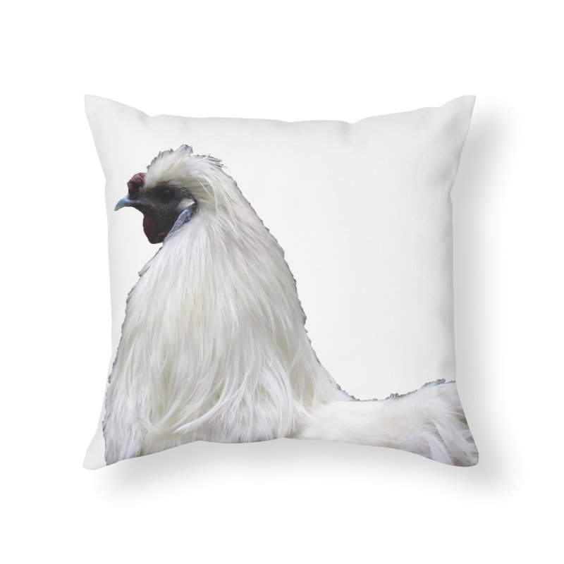 Francois Poulet Home Throw Pillow by Hostel in the Forest