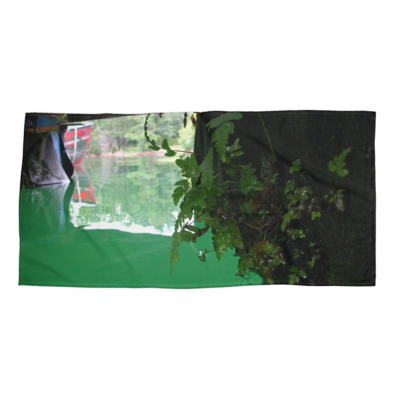 The Lake Dock Accessories Beach Towel by Hostel in the Forest