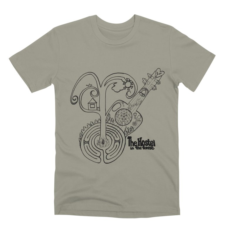 Hostel Peace by Darlene Cook Men's T-Shirt by Hostel in the Forest