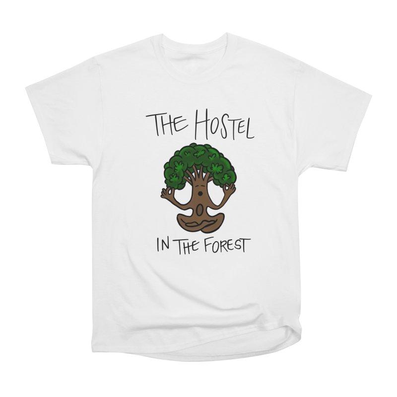 Hostel Yoga Tree by LeAnn Sauls Women's T-Shirt by Hostel in the Forest