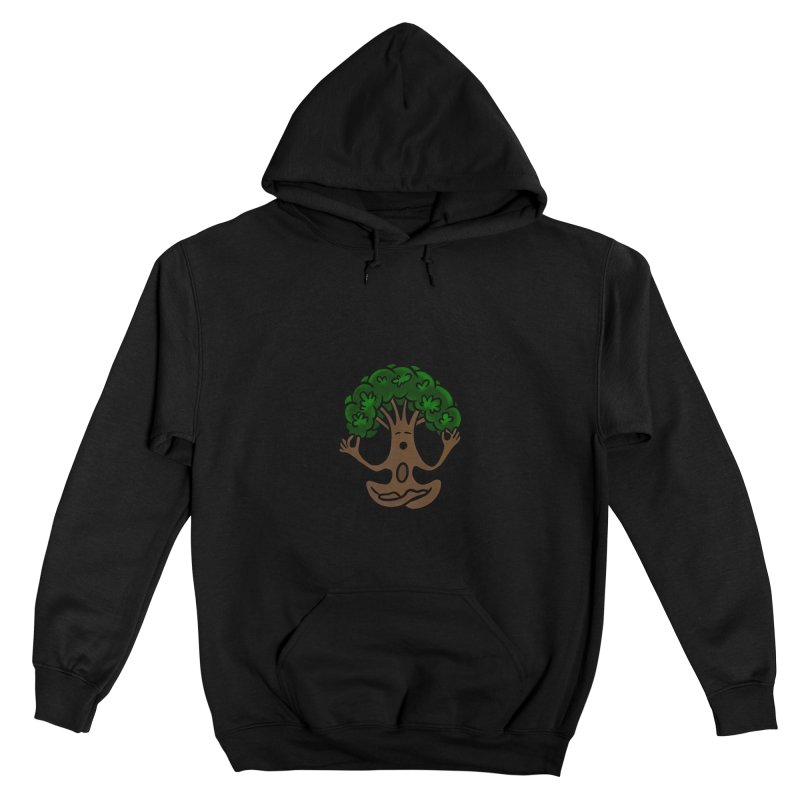 Hostel Yoga Tree by LeAnn Sauls Men's Pullover Hoody by Hostel in the Forest