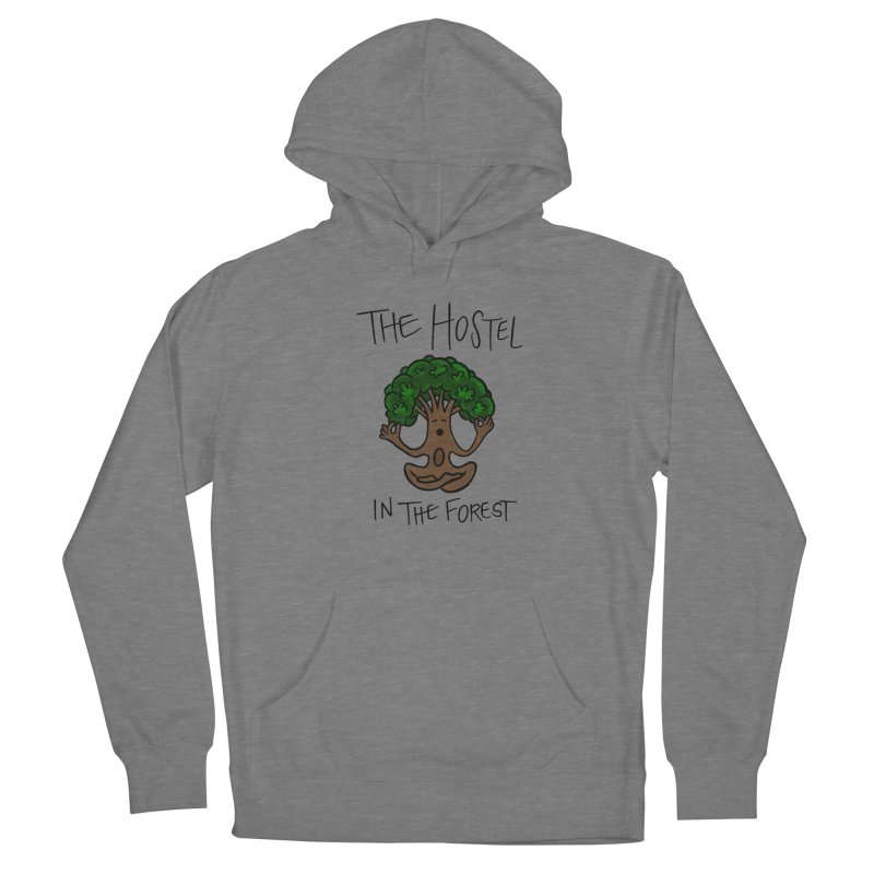 Hostel Yoga Tree by LeAnn Sauls Women's Pullover Hoody by Hostel in the Forest