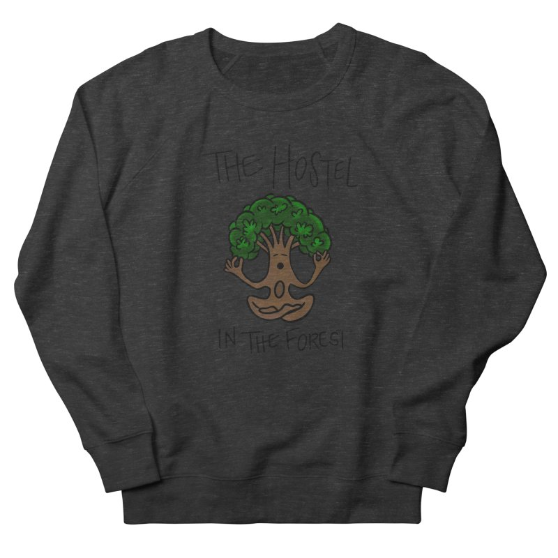 Hostel Yoga Tree by LeAnn Sauls Men's Sweatshirt by Hostel in the Forest