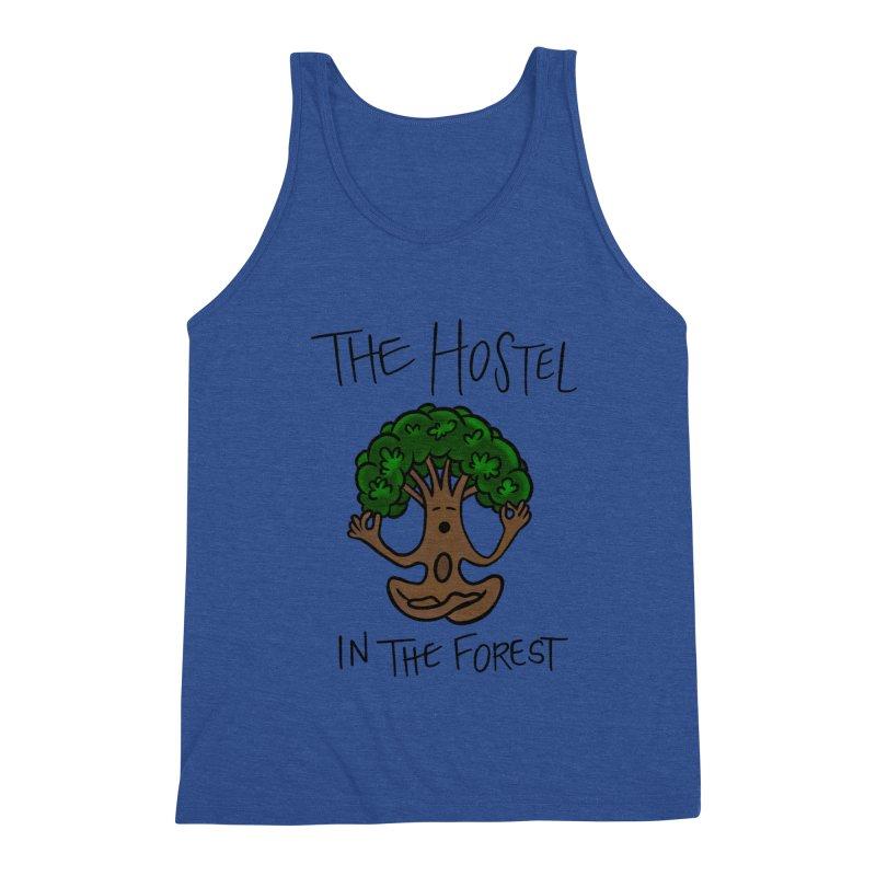 Hostel Yoga Tree by LeAnn Sauls Men's Tank by Hostel in the Forest