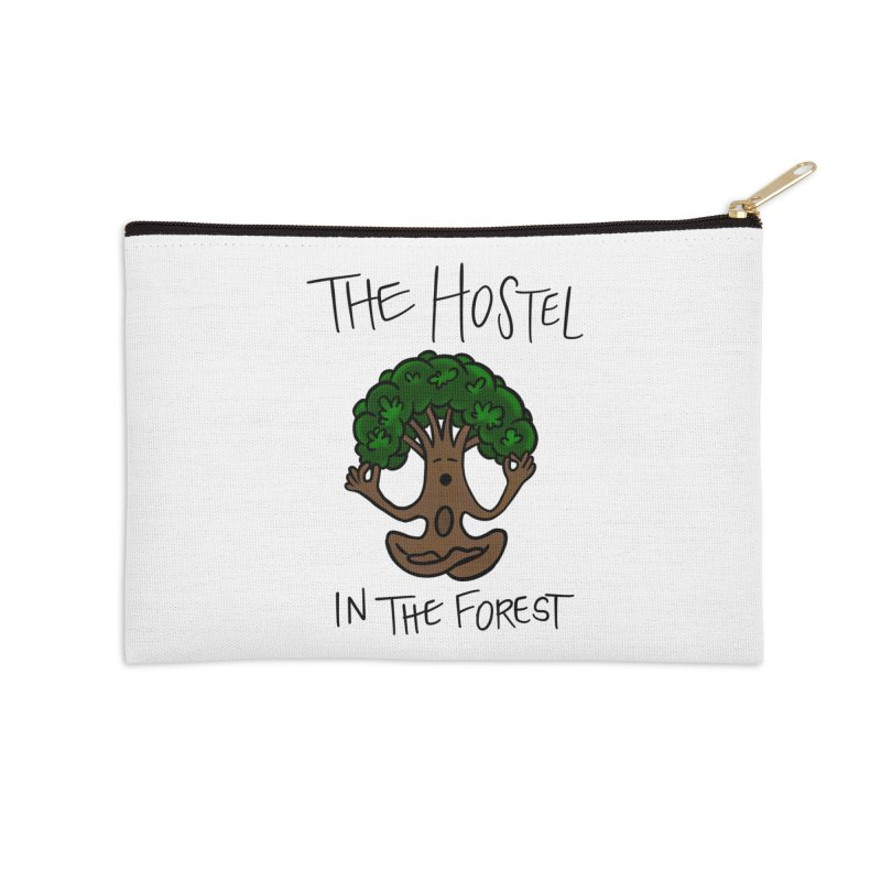 Hostel Yoga Tree by LeAnn Sauls Accessories Zip Pouch by Hostel in the Forest