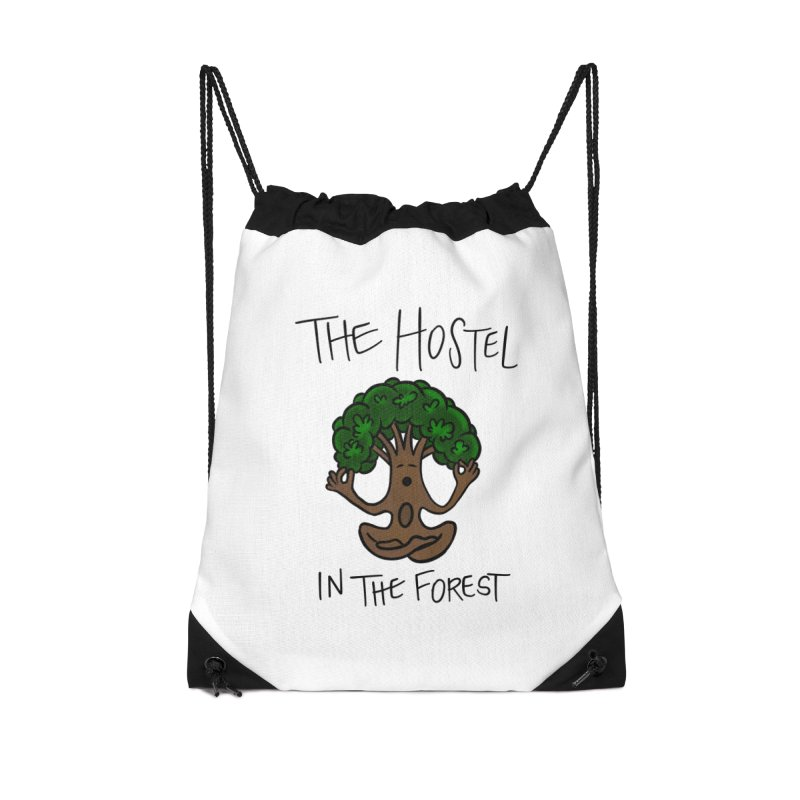 Hostel Yoga Tree by LeAnn Sauls Accessories Bag by Hostel in the Forest