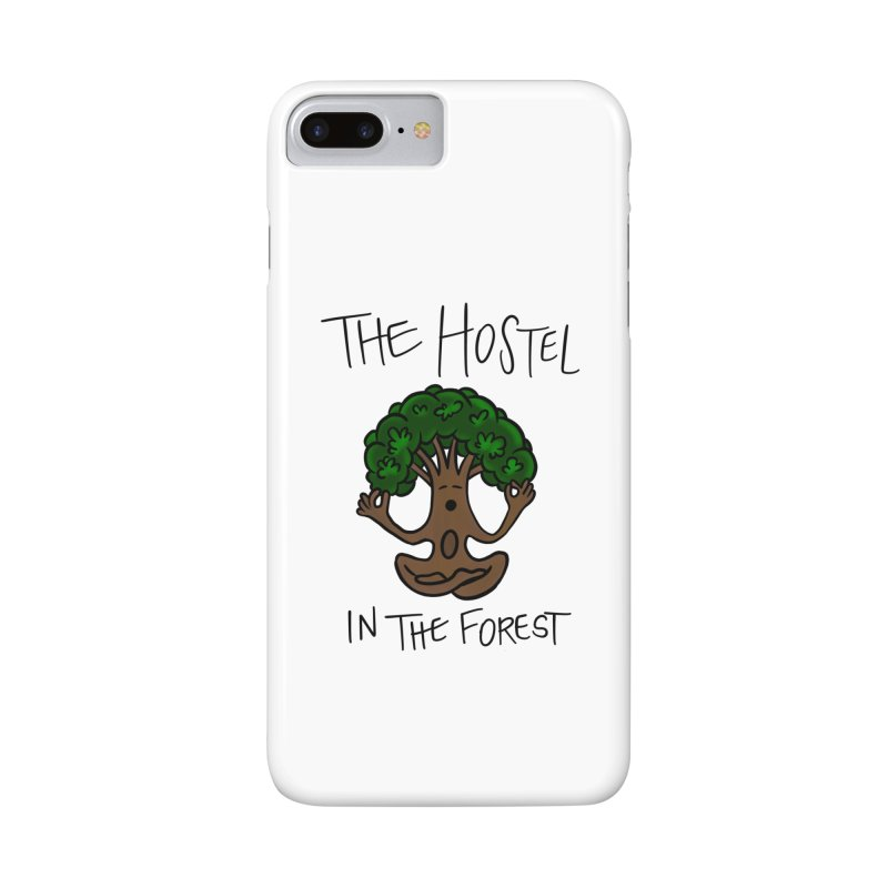 Hostel Yoga Tree by LeAnn Sauls Accessories Phone Case by Hostel in the Forest