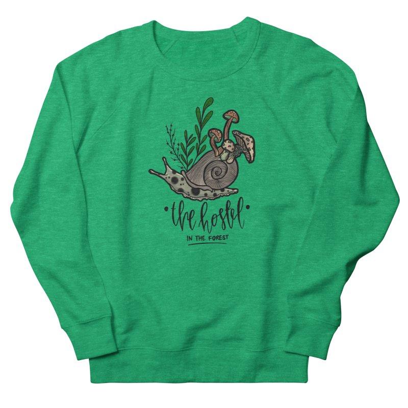 Shroom Snail by LeAnn Sauls Women's Sweatshirt by Hostel in the Forest