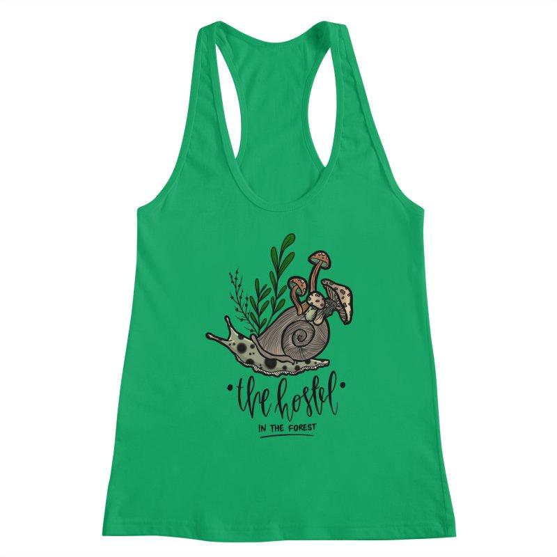Shroom Snail by LeAnn Sauls Women's Tank by Hostel in the Forest