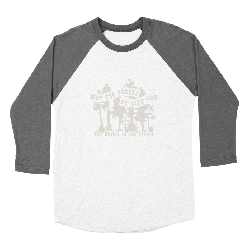 May the Forest by Erica Kelly, white on a clear background Women's Longsleeve T-Shirt by Hostel in the Forest