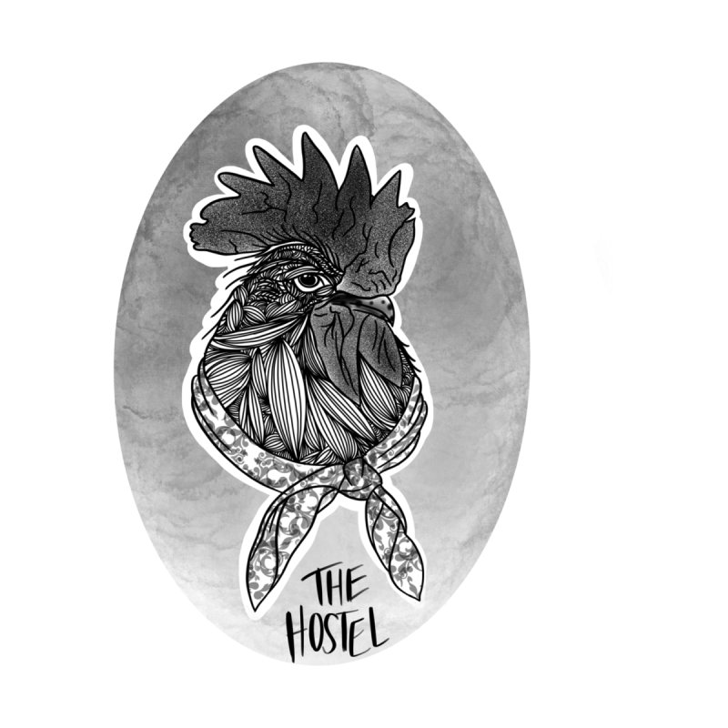 Rooster by LeAnn Sauls (vignette) Women's T-Shirt by Hostel in the Forest