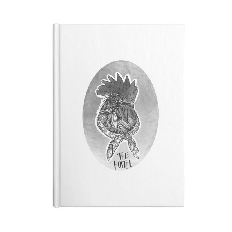 Rooster by LeAnn Sauls (vignette) Accessories Notebook by Hostel in the Forest