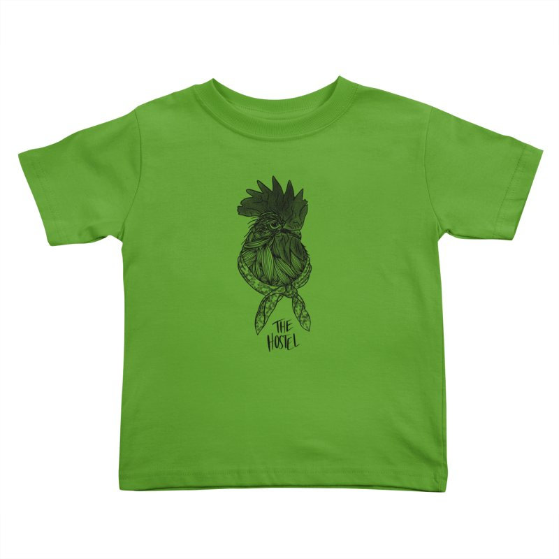 Rooster by LeAnn Sauls Kids Toddler T-Shirt by Hostel in the Forest