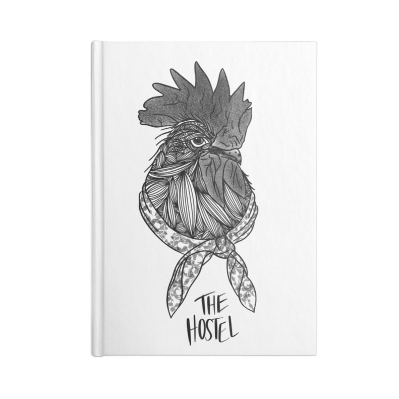 Rooster by LeAnn Sauls Accessories Notebook by Hostel in the Forest