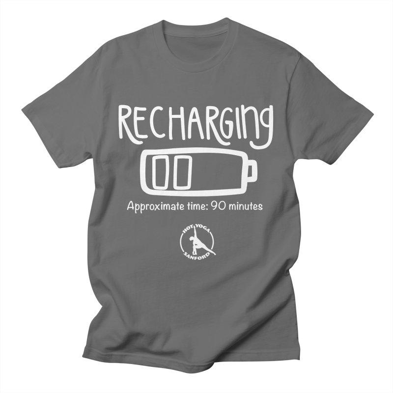 Recharging Men's T-Shirt by Hot Yoga Sanford's Storefront