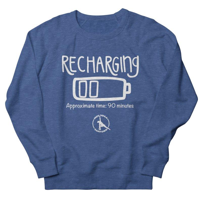 Recharging Men's Sweatshirt by Hot Yoga Sanford's Storefront