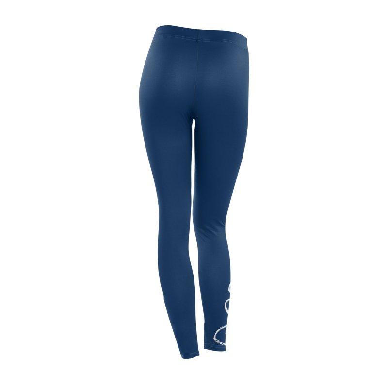 Peace, Love, Hot Yoga Sanford Leggings (Navy) Women's Bottoms by Hot Yoga Sanford's Storefront