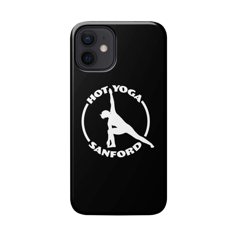 Black Hot Yoga Sanford Branded Products Accessories Phone Case by Hot Yoga Sanford's Storefront