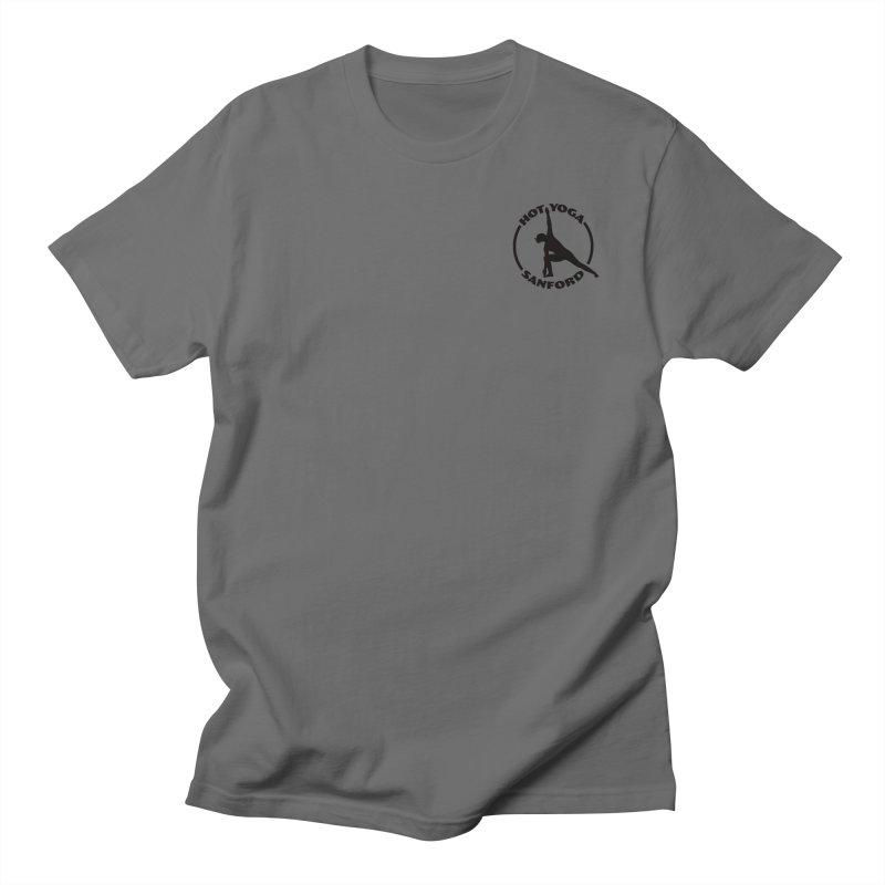 Black Logo Small Men's T-Shirt by Hot Yoga Sanford's Storefront