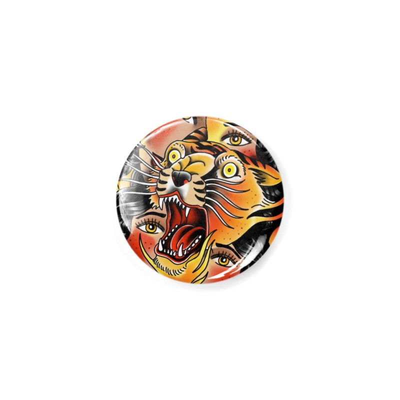 If You Rile A Tiger Accessories Button by Houndstooth