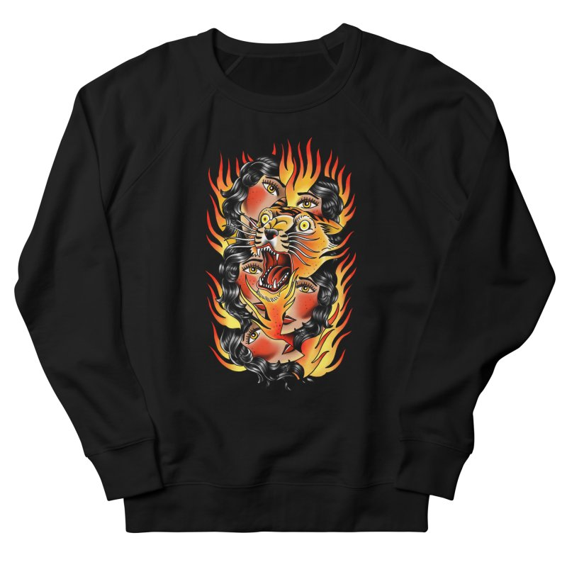 If You Rile A Tiger Men's Sweatshirt by Houndstooth