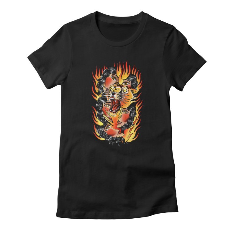 If You Rile A Tiger Women's T-Shirt by Houndstooth