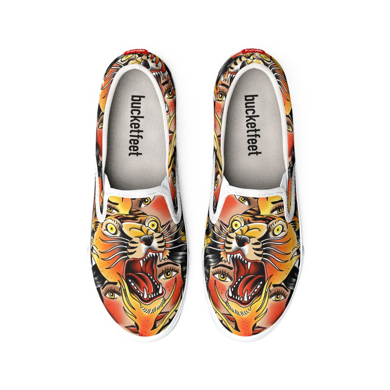 If You Rile A Tiger Men's Shoes by Houndstooth