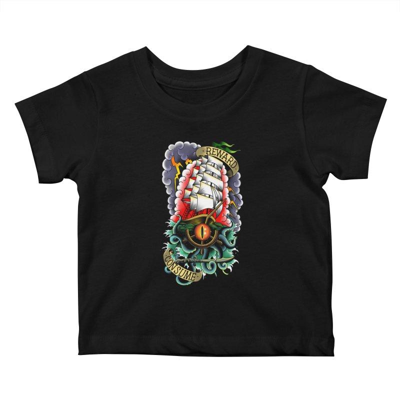 Uk'otoa Kids Baby T-Shirt by Houndstooth