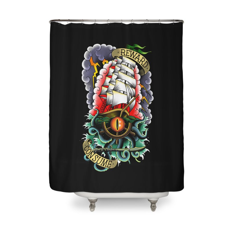 Uk'otoa Home Shower Curtain by Houndstooth