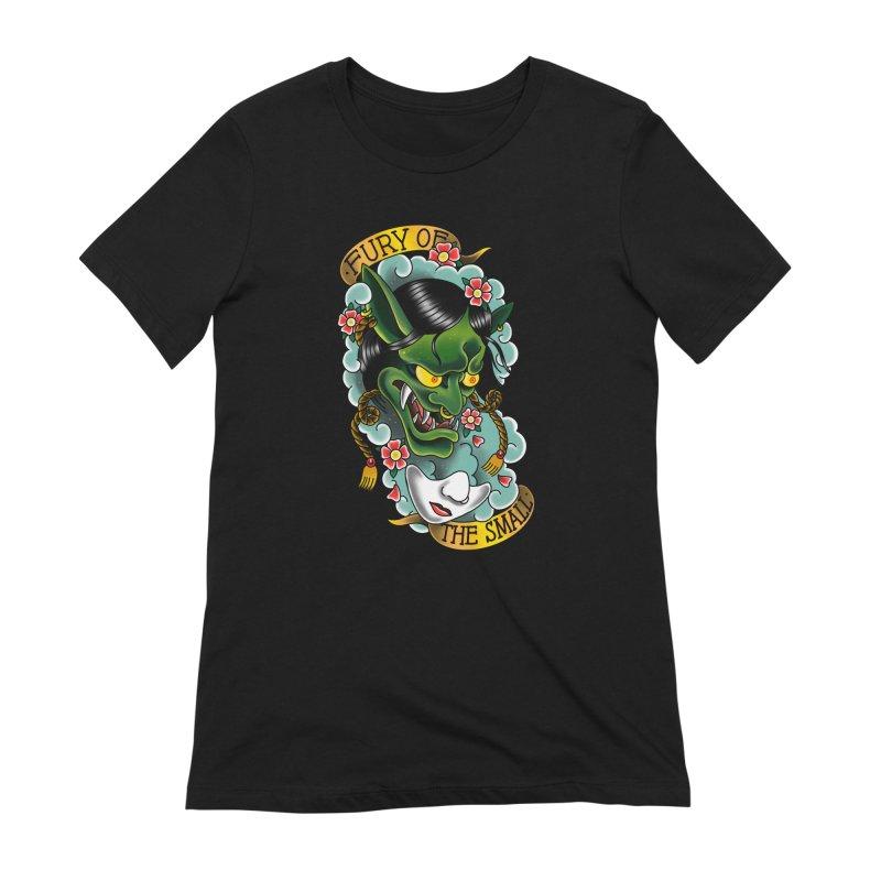 Hannya Nott Women's T-Shirt by Houndstooth