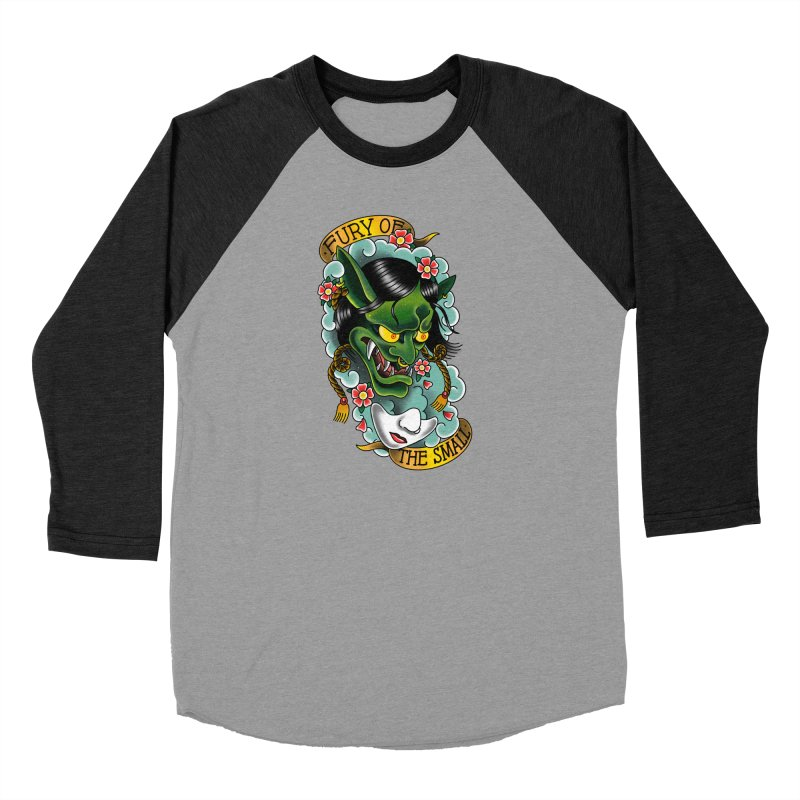 Hannya Nott Men's Longsleeve T-Shirt by Houndstooth