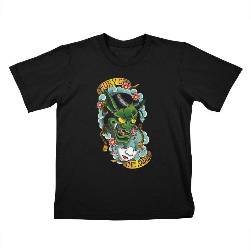 Hannya Nott Kids T-Shirt by Houndstooth