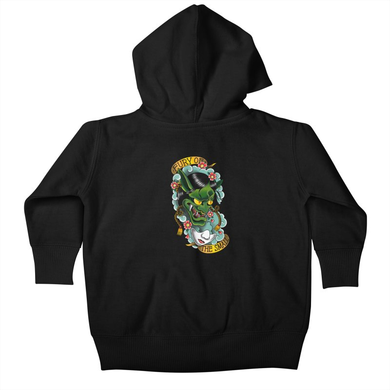 Hannya Nott Kids Baby Zip-Up Hoody by Houndstooth