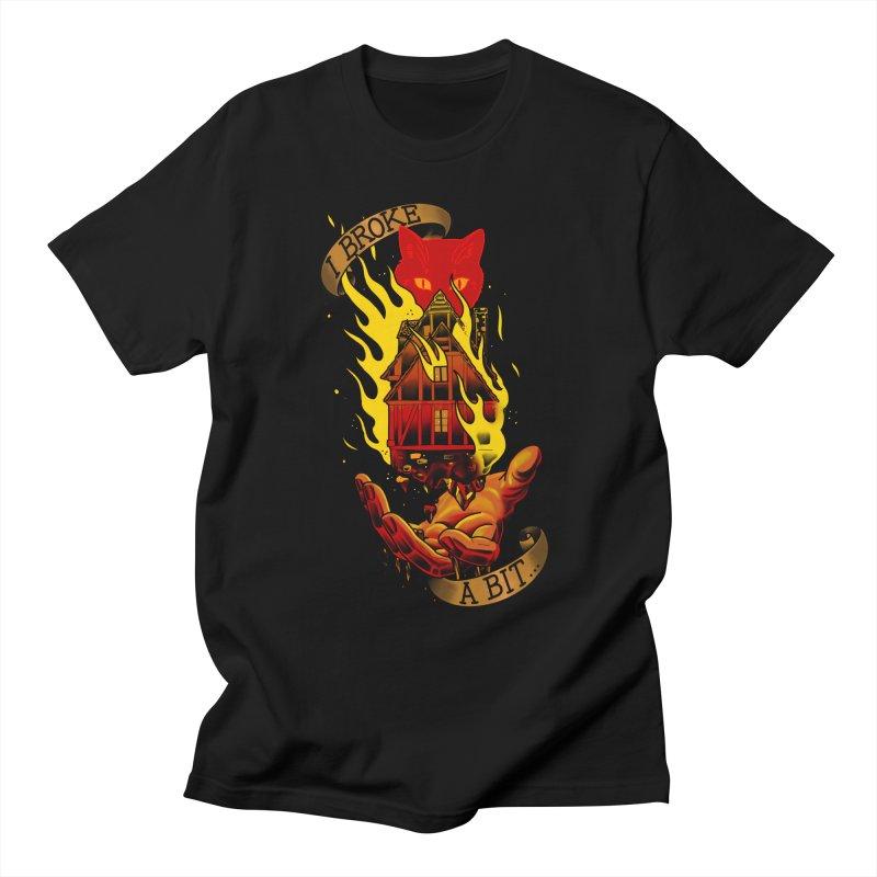 Caleb Widowgast Men's T-Shirt by Houndstooth