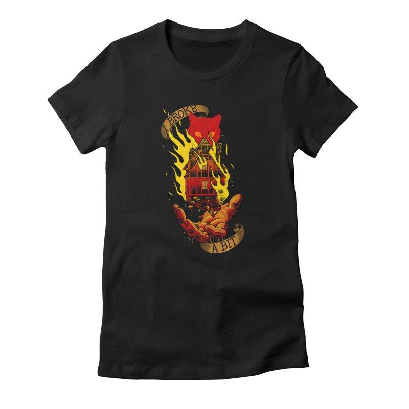 Caleb Widowgast Women's T-Shirt by Houndstooth