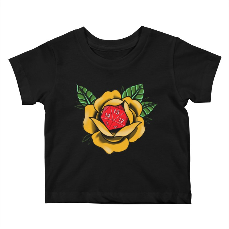 D20 Kids Baby T-Shirt by Houndstooth