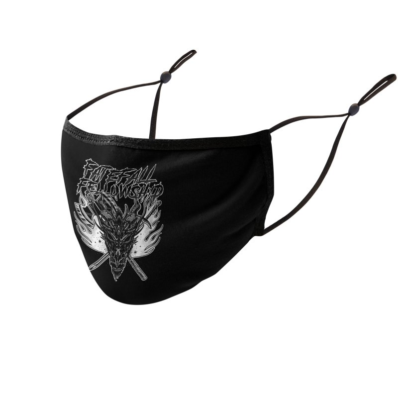 FATEFALL Accessories Face Mask by Houndstooth