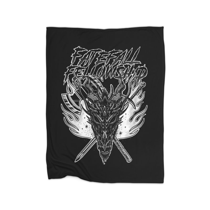 FATEFALL Home Blanket by Houndstooth