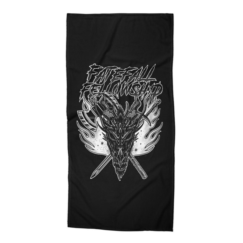 FATEFALL Accessories Beach Towel by Houndstooth