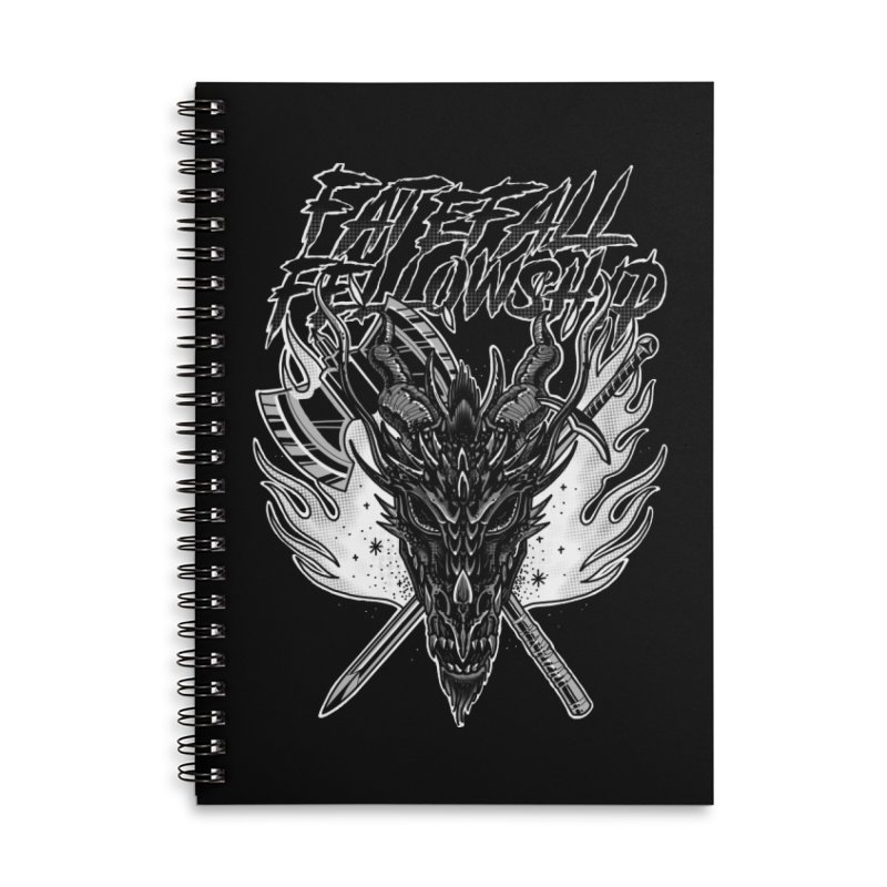 FATEFALL Accessories Notebook by Houndstooth