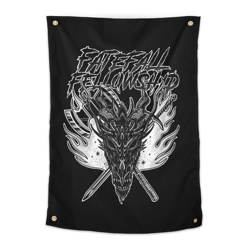 FATEFALL Home Tapestry by Houndstooth