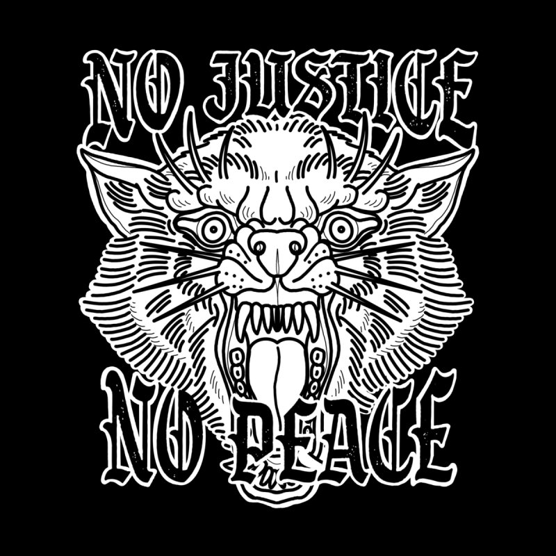 No Justice No Peace Men's T-Shirt by Houndstooth