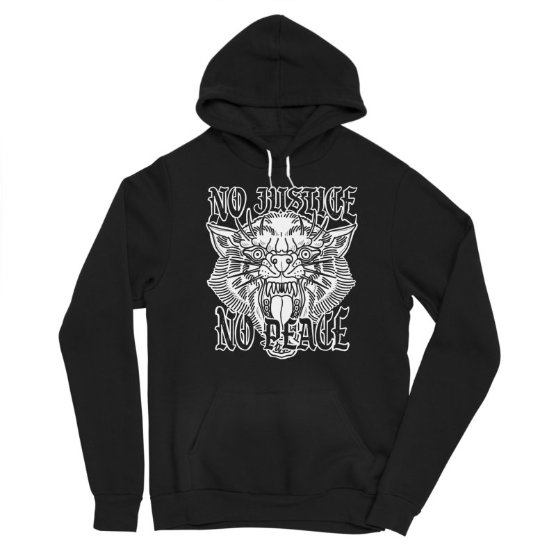 No Justice No Peace Women's Pullover Hoody by Houndstooth