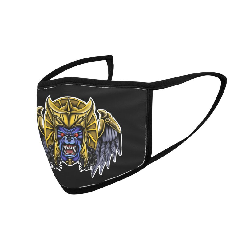 Goldar Accessories Face Mask by Houndstooth
